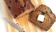 Blueberry Banana Sour Cream Bread