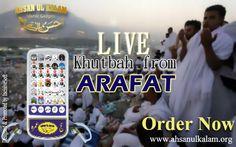 LIVE Khutbah from #Arafat . #arafatkhutba #Hajj #Umrah