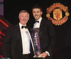 Carrick was awarded Player's Player of the Season despite tough competition