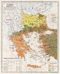 Ethnological map of Greece, 1918 | Map prepared for the negotiations of the Treaty of Sevres. Appended to "|236|289|?|en|2|6d79334a692912114f992ab735e3934a|False|UNLIKELY|0.3758087456226349