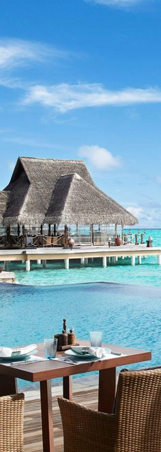 Taj Exotica Resort - Maldives.   ASPEN CREEK TRAVEL - karen@aspencreektravel.com