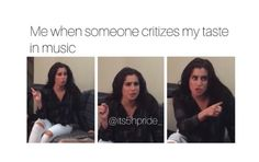 For real 😂 Fith Harmony, Fifth Harmony Camren, Camila And Lauren, Hamilton, Funny Relatable Memes, When Someone, Green Eyes, Jokes, Humor