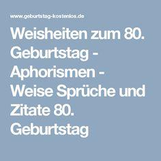 Geburtstagsgedichte Lustig Zum 80 Geburtstag Achtzigsten