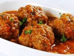 hCG Diet Baked Italian Meatballs (protein in grisin portion)