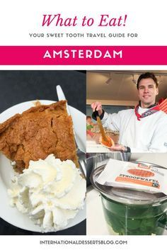The 5 BEST Desserts in Amsterdam | Don't visit Amsterdam without this foodie's guide to the most amazing Dutch desserts and sweet treats! | Food Guide | Europe Travel | Netherlands