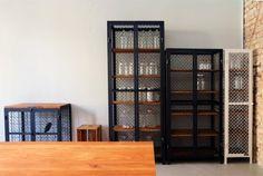 AUTHENTIC FURNITURE cupboards (black & white) by Noodles, Noodles & Noodles