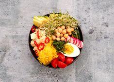 Buddha bowl hapankaalilla - Rasilainen Buddha Bowl, Aga, Barista, Cobb Salad, Food, Essen, Meals, Yemek, Baristas