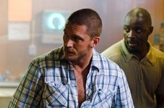 "Tom Hardy (with Idris Elba) in ""Rocknrolla"""