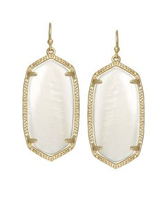 Love love love these Kendra Scott baby Danielle earrings (Elle).  Available at Neiman Marcus.com.  My daughter just gave these to me for my birthday!