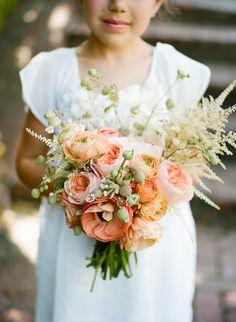 Peachy coral color scheme...Kiana Underwood / tulipina.com & Christina McNeill / christinamcneill.com