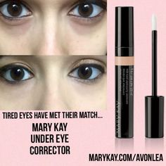 Dark circles / baggy eyes you have met your match! Contact me today for your FREE Mary Kay pampering session.