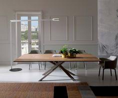 fr das groe dinner ozzio 4x4 ausziehbarer tisch for the big dinner extendable table - Ausziehbare Esstische Fr Kleine Rume