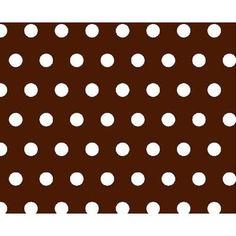 Sheetworld Polka Dots Mini Fitted Crib Sheet Color: