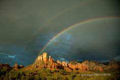 Sedona AZ Doble Rainbow | Flickr - Photo Sharing!