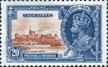 Seychelles 1935 Silver Jubilee SG 130 Fine Mint Scott 120 Other Seychelles Stamps HERE