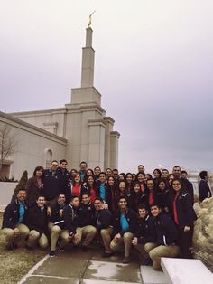 Before their show in Albuquerque in February 23, Living Legends took a walk around the temple.