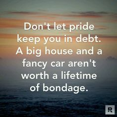I wish so many people knew this.  It would save them so much to not keep up with the Joneses.