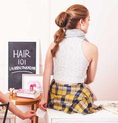 The Non Braid on LaurenConrad.com #hair