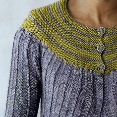 Sprinkle Cardigan from Loop's 10 by Juju Vail in Uncommon Thread