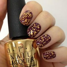 Want to get this sooo badly!!! O.P.I - 18K Gold Leaf, $38