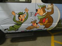 Partial vehicle wrap for Yogi Bear's Camp Resort in Cave City by 12-Point SignWorks