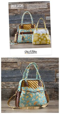 Here's a wonderful FREE tutorial and video on how to make the Shiloh Satchel. The video takes you through step by step on how to make the bag, with lots of helpful tips to ensure your bag is the best on the block. Source by nickiscrafts and bags to make Easy Sewing Projects, Sewing Projects For Beginners, Sewing Hacks, Sewing Tutorials, Bag Tutorials, Diy Sac, Sewing To Sell, Handbag Patterns, Patchwork Bags