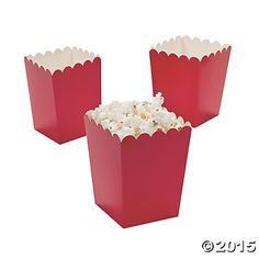 Mini popcorn box favors