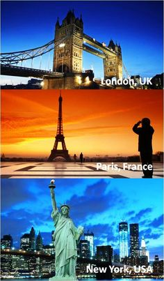 #London, #Paris, #NewYork - done, done, and done