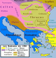 The Thracians were a group of Indo-European tribes inhabiting a large area in Southeastern Europe. They were bordered by the Scythians to the north, the Celts and the Illyrians to the west, the Ancient Greeks to the south and the Black Sea to the east. European Tribes, European History, World History, Greek History, American History, Ancient Rome, Ancient History, Ancient Greece, Ancient Aliens