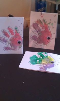 E and her Mummy have been busy this week. Not only setting up their own blog but also making Rainbow fish handprints cards – these would make a great Thank you card or even a birthday card especially for a summer birthday or anyone that loves ocean life. What you need Different coloured paints Paint...Read More »