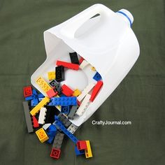 Kid Inspiration - All for the Boys - Milk Jug Toy Scoop