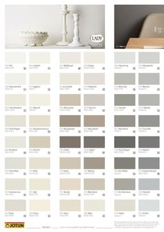 Jotun Paint Color Swatches have some pictures that related each other. Find out the most recent pictures of Jotun Paint Color Swatches here, and also you can find the picture […] Paint Color Chart, Wall Paint Colors, Paint Colors For Living Room, Paint Colors For Home, Room Colors, Home Wall Colour, Interior Wall Colors, Deco Design, Wall Design