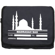 Prayer Bag - [Medium]  3x Internal Compartments. (2x Large, 1x Small) Velcro Fastening 3x pen holders Adjustable shoulder straps Name & Contact details place