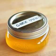 How to make and store ghee.