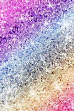 Rainbow Sparkles wallpaper iPhone