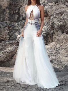 Floor-Length Backless Sleeveless Pullover A-Line Dress – Store Stunning Dresses, Beautiful Gowns, Elegant Dresses, Pretty Dresses, Evening Dresses, Prom Dresses, Formal Dresses, Fantasy Gowns, Mode Outfits