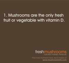 It's Day 1 of National Mushroom Month. Keep an eye out for fun new mushroom facts each day and SHARE the knowledge.
