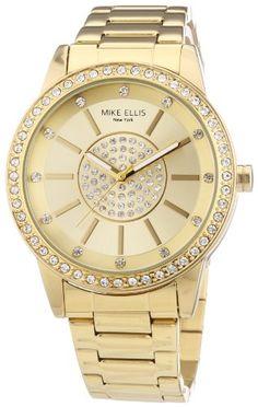 Sale Preis: Mike Ellis New York Damen-Armbanduhr Analog Quarz Edelstahl M3094/1. Gutscheine & Coole Geschenke für Frauen, Männer und Freunde. Kaufen bei http://coolegeschenkideen.de/mike-ellis-new-york-damen-armbanduhr-analog-quarz-edelstahl-m30941