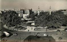La place de la Nation vers 1955  (Paris 75011/75012)