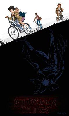 Stranger-Things-celular-wallpaper-9 17 Wallpapers para celular da Série Stranger Things do Netflix