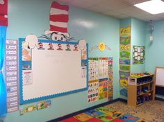 My Dr. Seuss theme Classroom