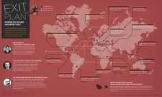 GOOD.is | Infographic: Infographic: Where in the World Are Exiled Leaders?
