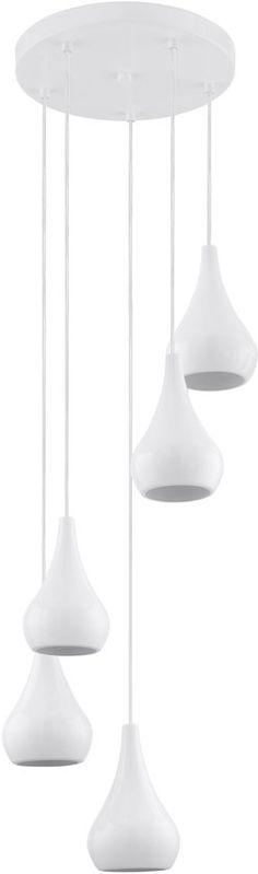 EGLO Nibbia - Hanglamp - 5 Lichts - Wit