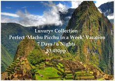 """This Luxury Vacation begins by visiting local Markets, Top Restaurants, Districts, and Historical Points in Lima from the comfort of the 5* Marriott Hotel before flying to Cusco where you will explore the Inca and Colonial Highlights in and around the """"Imperial City"""" and the Sacred Valley in Private Service while staying in Belmond's Historic 5* Monasterio Hotel."""
