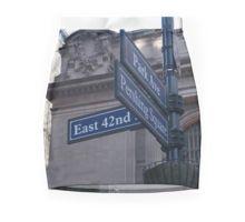 New York street sign pencil skirt.