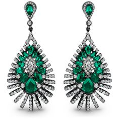 Emerald Chandelier Earrings | Jacob & Co. | Timepieces | Fine Jewelry | Engagement Rings
