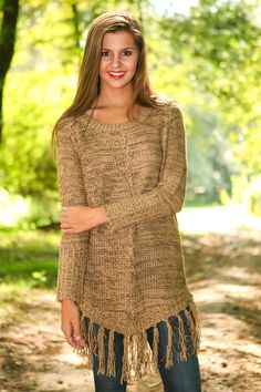 Isn't Knit Nice Sweater-Coffee Cream | The Red Dress Boutique