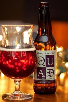 Weyerbacher Quad. Possibly my favorite beer from my absolutely favorite microbrewery. It also happens to be in my hometown! Check out the brewery in Easton, PA.