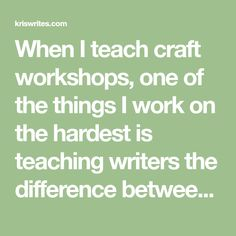 "When I teach craft workshops, one of the things I work on the hardest is teaching writers the difference between taste and ""good fiction."" I put ""good fiction"" in quotes, because there seems to be …"