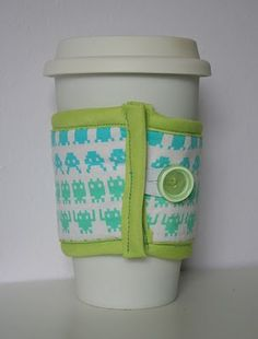 Sew Can Do: Geek Chic Insulated Cup Cosy
